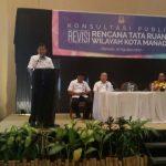 Walikota GSVL Buka Konsultasi Publik Revisi RTRW Kota Manado