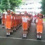 SD Negeri Malalayang Juara 1 Lomba Gerak Jalan 8 KM Tingkat Sulut