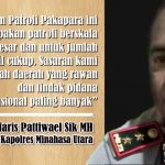 Kapolres Pattiwael Pimpin Langsung Operasi Pakapara