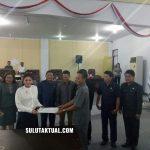 DPRD Minut Gelar Paripurna Pengesahan Ranperda Hak Keuangan dan Administratif