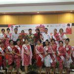 Pemilihan Nyong Noni Sulut 2017 dibuka Wagub Kandouw