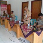 Kawal Dandes Rompis Pimpin Rakor Kecamatan