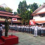 Sosialisasi Bela Negara di SMK Negeri 1 Manado