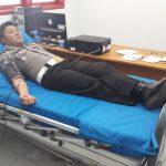 HUT ke-62 Polantas, Polres Minut Gelar Aksi Donor Darah dan Kunjungi Panti Werda