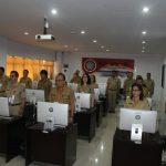 PEMPROV SULUT gelar Uji pembuatan Makalah untuk Mengisi 3 JPT Pratama