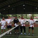 Wagub Kandouw Apresiasi Turnament Tenis Pangdam XIII Cup