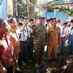 Kaban Kesbangpol Sulut letakan Batu Pertama Pembangunan Tugu Bela Negara
