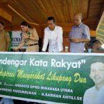 Anggota DPRD Minut Gelar Reses di Likupang dan Wori