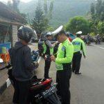 Minimalisir Pelanggar Lalin, Satlantas Polres Sangihe Giatkan Operasi Rutin
