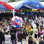 Tutup Manado Fiesta 2017, Walikota GSVL Thanksgiving Dengan Warga Manado