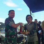 Bupati Bolmong Ikut Latihan Menembak Bersama Yon Armed.