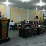 Bupati VAP Hadiri Rapat Paripurna DPRD Minut