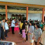 Me'Daseng Di Kecamatan Tabut, Bupati Serahkan Bantuan 500 Juta Ke KUBE