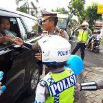 Peringati HUT ke-62 Polantas, Satlantas Polres Minut Kampanyekan Keselamatan Dijalan