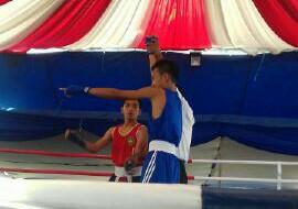 Revan Humamping, 46 Kg Semi Junior.