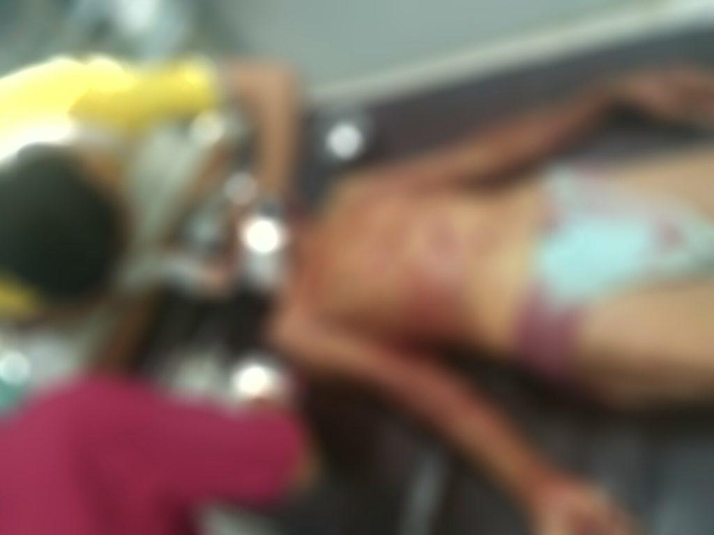 Korban yang sempat dibawa ke puskesmas tap nyawanyai tak tertolong lagi.