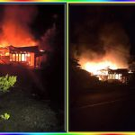 Dua Rumah di Desa Warukapas Diamuk si 'Jago Merah', Kerugian Sekira 175 Juta