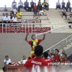 Ditonton Langsung Gaghana-Hontong Tim Volly Ball Putra Sangihe Libas Sitaro