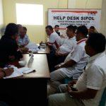 DPC Partai Gerindra Sangihe Resmi Daftarkan Diri