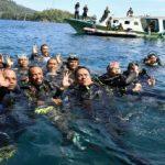 Gubernur Olly Ajak Masyarakat Jaga Kelestarian Laut