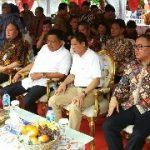 Sumur Bor Air Tanah Desa Warisan Minut diresmikan Menteri ESDM