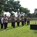 Kapolres Siahaan Pimpin Sertijab di Jajaran  Polres Bolmong