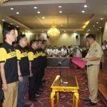 Clay Dondokambey Sah dilantik sebagai Ketua PDBI Sulut