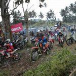421 Crosser Ramaikan OD-SK Adventure Tatelu, Panitia Rayakan HUT Gubernur Olly di Lokasi Iven