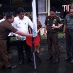 Suport Penuntasan Dugaan Korupsi, Bupati dan Kajari Launching Sistem e-TP4D