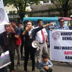 LSM KIBAR tuntut Bank Sulut Talaud dikosongkan