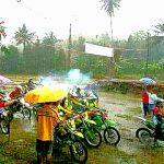 HUT ke-806, Desa Sawangan Gelar Lomba Motor Cross