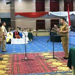 Wakili Wali Kota Manado, Wawali Mor Lantik Pengawas Kecamatan dan Kelurahan