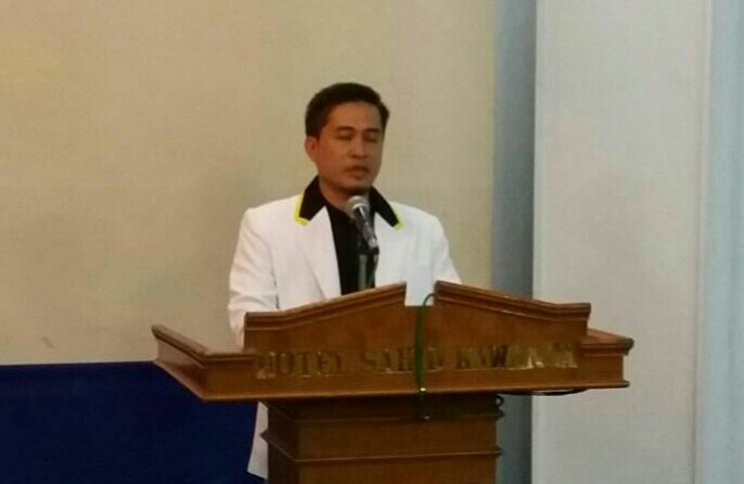 "Ketua DPD PKS Manado Abu Hasan Syafi""i."