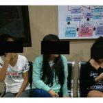 K2YD Polres Minut Amankan 3 Wanita Muda yang Mengkonsumsi Miras
