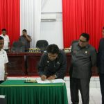 Landasan Pemerintahan 5 Tahun Megahagho Resmi Ditetapkan DRPD