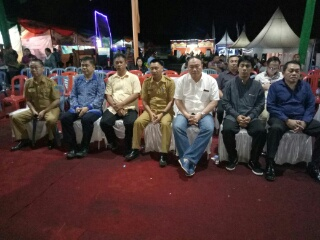 Para kepala SKPD yang hadir dalam acara penutupan pameran pembangunan.