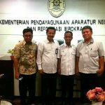 Perjuangkan UP2D, Hontong Datangi Kementerian PAN Dan RB