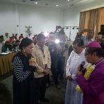 Uskup Manado Mgr Benedictus Estephanus Rolly Untu Msc Doakan Bupati Minut.