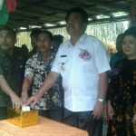 Resmikan Kantor Kampung Taloarane Gaghana Harapkan Pelayanan Maksimal
