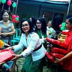 Berbagi Kasih, MTB Dan FOKBI Gelar Ibadah Pra Natal di Panti Werdha