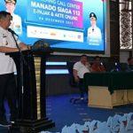 Mantapkan Pelayanan Publik, Pemkot Manado Launching Call Center Manado Siaga 112
