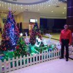 Ornamen Natal Hiasi Sutanraja Hotel Minut