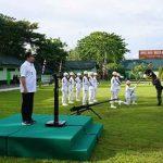 Wawali Mor Bastiaan Ikut Upacara Tradisi Penyambutan Personil Satgas Pamtas RI-RDTL Yonif Raider 712/Wiratama
