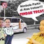 Parkir Di Atas Trotoar? Ini Kata Wali Kota Manado