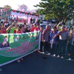 Peringati Hari Amal Bhakti Ke-72 Kemenag RI Gelar Jalan Sehat Kerukunan di Sulut