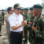Wali Kota Vicky Lumentut Hadiri Upacara Penyambutan Penjaga Perbatasan RI-Timor Leste