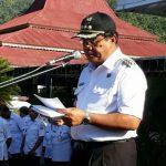 Apel Perdana, Bupati Jabes Ingatkan ASN Bekerja Profesional