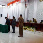Esekutif Legislatif Setujui Perubahan Perda No 1 Tahun 2016