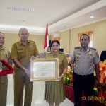 Kabupaten Minut Raih Penghargaan HAM 2016