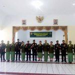 Lima Pamen Resmi Dilantik Brigjen TNI Joseph Robert Giri